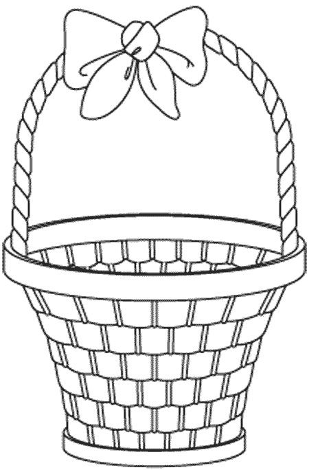 Beautiful Fruit Basket Coloring Pages