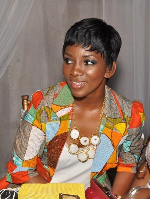 African Fabric, Ankara, Genevieve Nnaji #Ankara, #Jacket