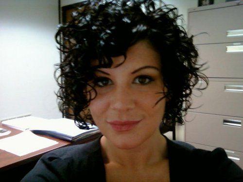 3a curly - Brunette, 3b, 3a, Short hair styles, Medium hair styles