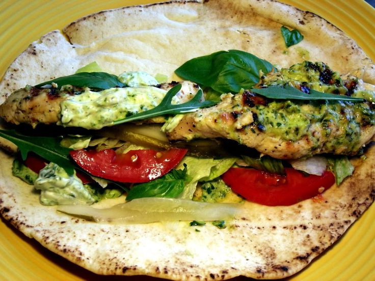 Grilled Chicken With Basil Pesto Mayo | Chef Rubys Kitchen | Pinterest
