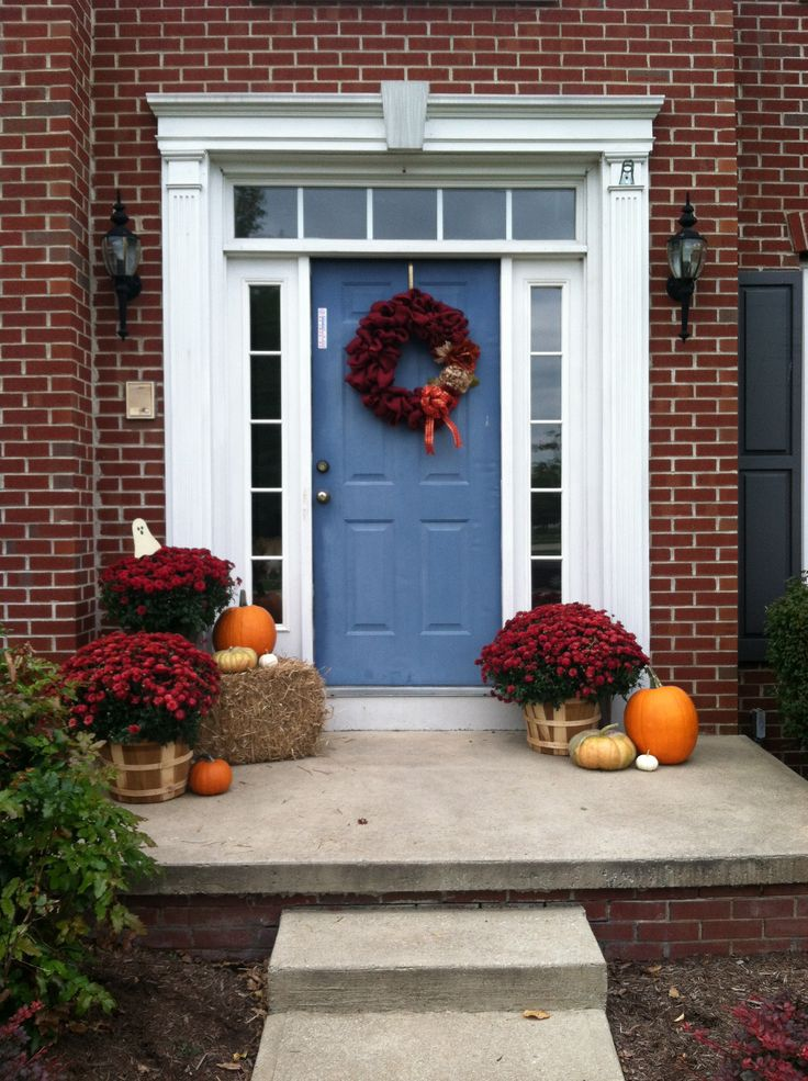 Fall Door Decor For The Home Pinterest
