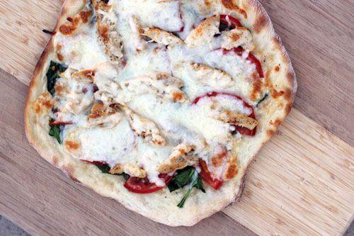 Italian Chicken Panini Pizza looks yummy!