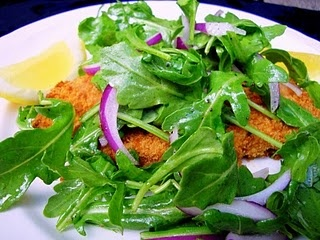 Chicken Milanese With Arugula Salad | Deliciousness | Pinterest