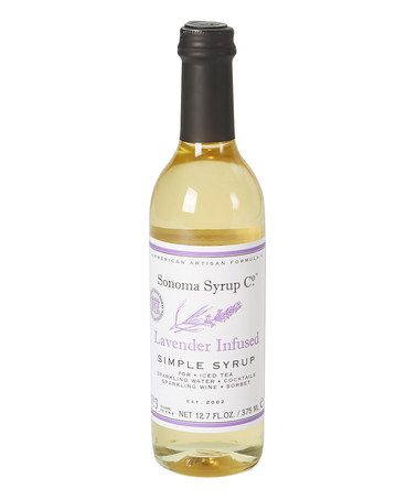 ... Lavender Artisan-Infused Simple Syrup by Sonoma Syrup Co. #zulilyfinds