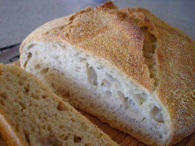 Rosemary Lemon no knead bread | bread | Pinterest