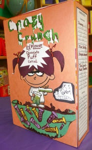 cereal box book report summary