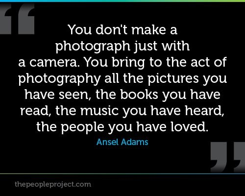 Quotes About Ansel Adams Pictures