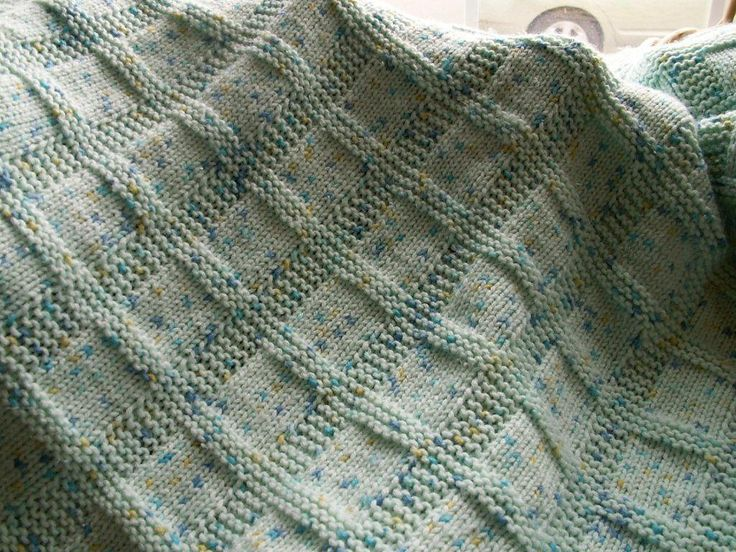 Sunny Baby Blanket Knitting Pattern : Sunny Baby Blanket ~ Free Pattern Tejidos para bebe y ninos Pinte?