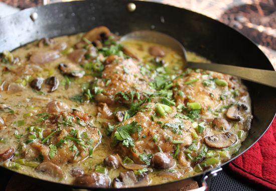 Riesling Chicken & Mushroom Casserole | My Life | Pinterest