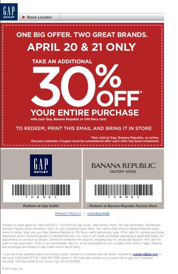 Gap maternity coupons in store