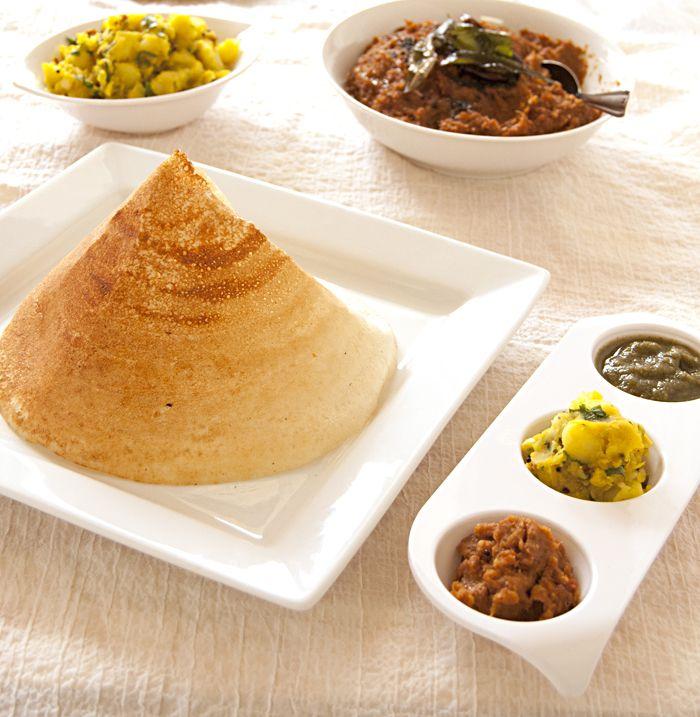 Dosa (Rice & Lentil Crepes) – Back to basics   Ambika's Kitchen
