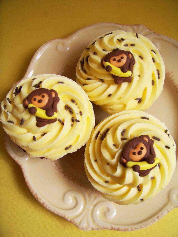 Chocolate Banana Cupcake Bath Bomb on Etsy, $6.00