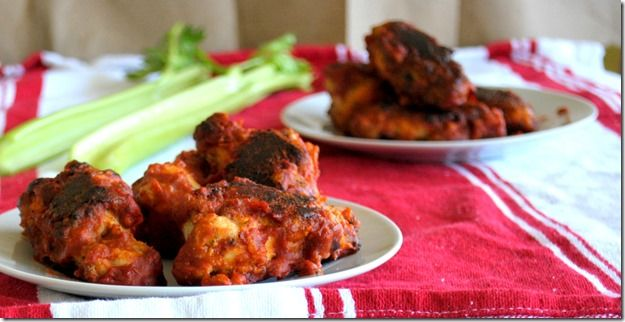 Simple Paleo Buffalo Chicken Wings. I will eat it w/ celery and my ...