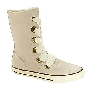 Womens Athletic Shoe Chuck Taylor All Star Beverly Boot-Off White