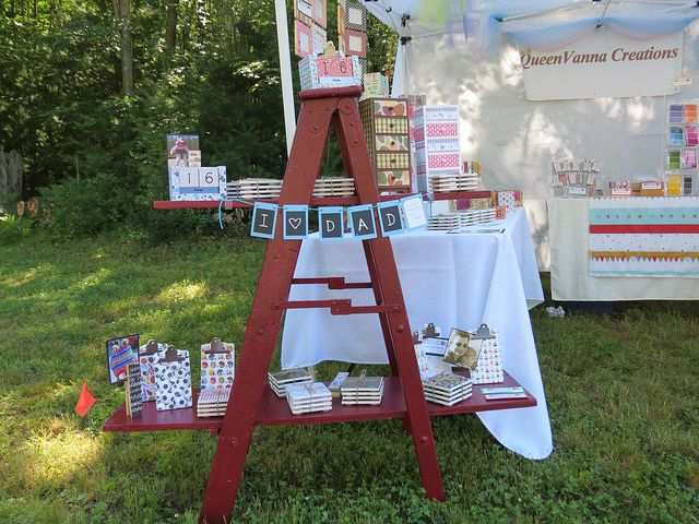 ... by Krissie Shields on DIY CRAFT SHOW DISPLAY AND SET-UP IDEAS | P
