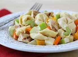 Honey-Mustard Chicken and Apple Tortellini Salad | Recipe