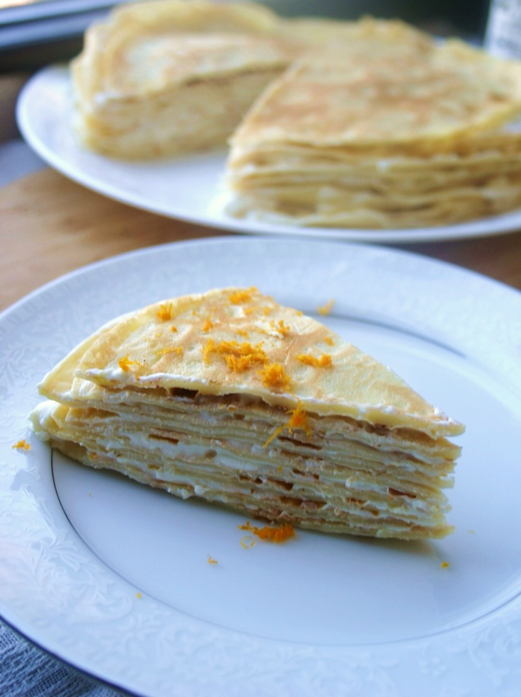 Honey Lavender Mille Crepes Cake Recipe — Dishmaps