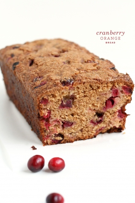 Cranberry Orange Bread -- will need to try substitutions for sweetners ...