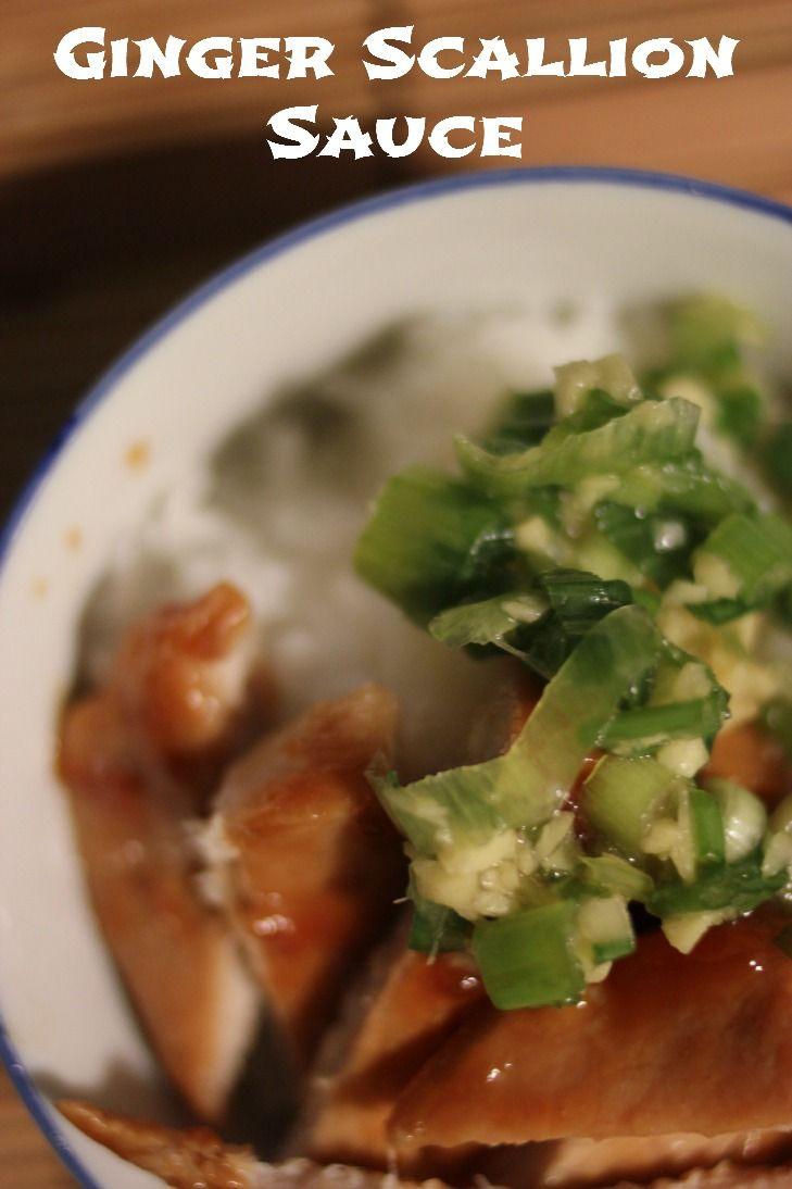 Momofuku ginger scallion sauce | Healthy Eating | Pinterest