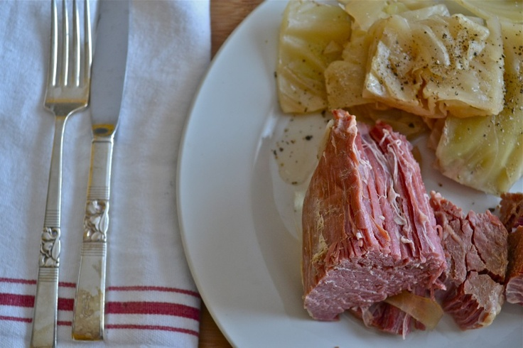 Crock Pot Corned Beef and Cabbage | slow cooker | Pinterest