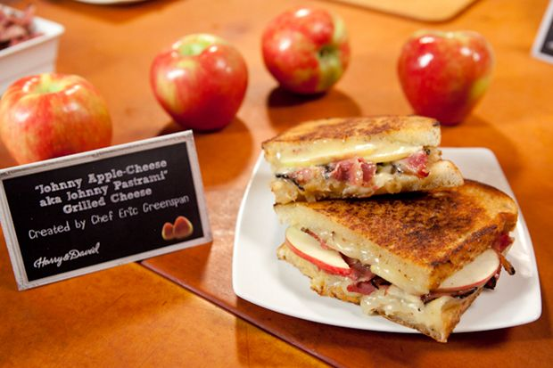 """Not just a grilled cheese sandwich! """"Johnny Apple-Cheese aka Johnny ..."""