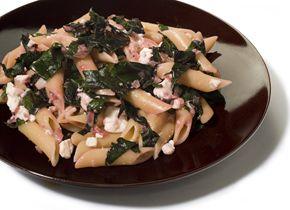 Beet Greens and Feta Pasta :: When Pasta Met Sauce - Feature - Food ...