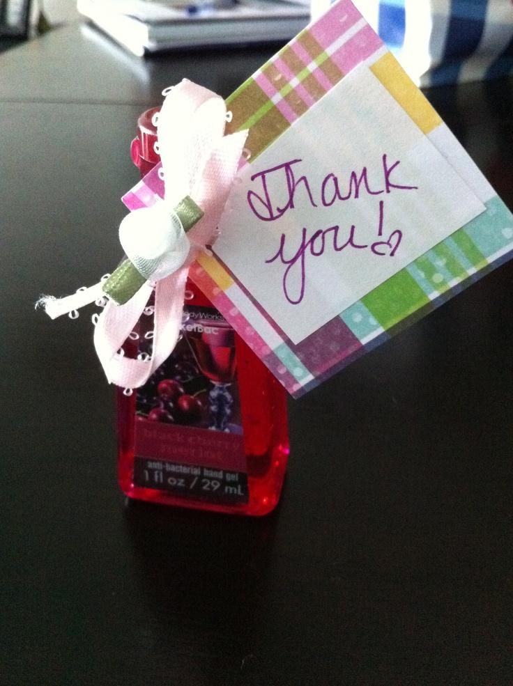 hand sanitizer baby shower favor ay babay pinterest