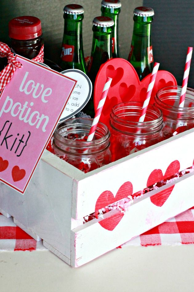holidays valentines love potion floats