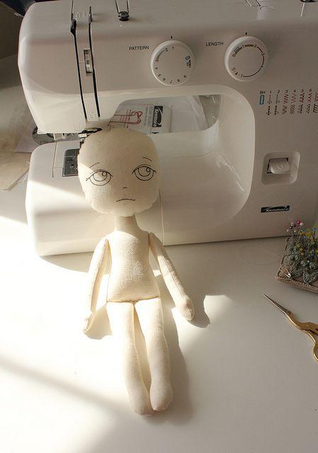 ткани куклы
