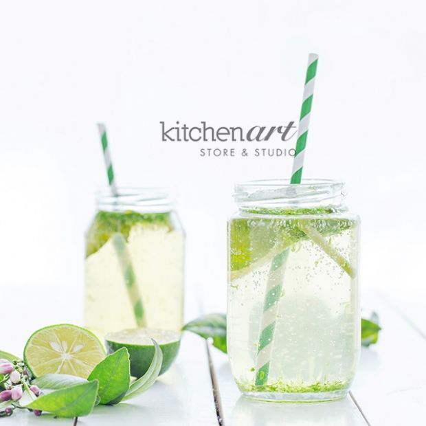 Lemongrass Lime Leaf Soda | Sip. | Pinterest
