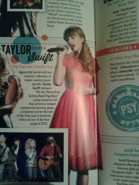 Taylor swift is...
