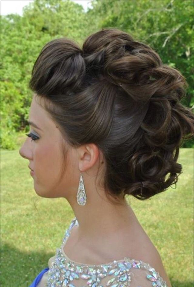 images Updo Hairstyles for Homecoming: Faux Hawk Updos Tutorial