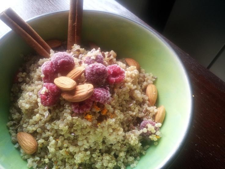 Citrus Scented Breakfast Quinoa (shameless plug..)