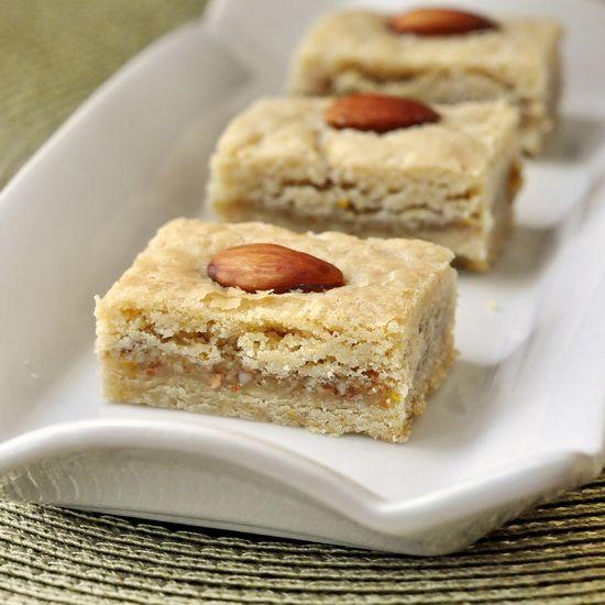 Orange Almond Cookie Bars | Sweet Treats | Pinterest