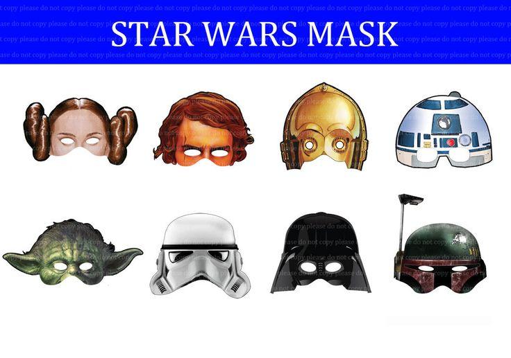 Как сделать маски звездные войны своими руками