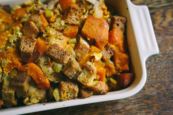 Gluten-Free Kabocha Squash Stuffing recipe on Food52.com