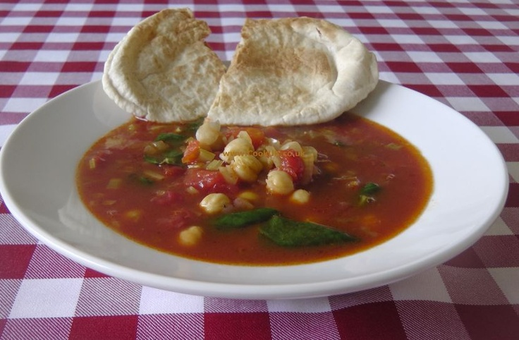 Moroccan Chickpea Soup | Soups On :) | Pinterest