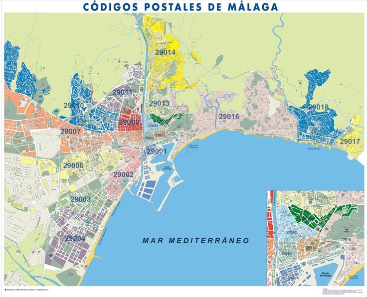 C digos postales for Codigos postales madrid capital