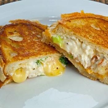 Lobster Grilled Cheese Sandwich | Food - Sandwiches | Pinterest
