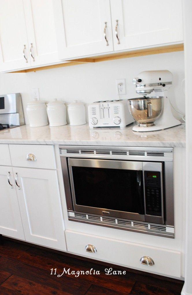 Microwave Under Counter Kitchen Krazy Pinterest