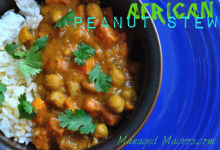 african peanut stew also know as maafe peanut butter cayenne and ...
