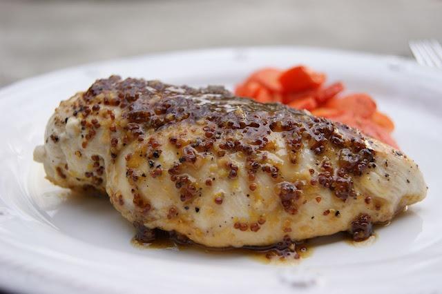 Maple Mustard Glazed Chicken | Recipes - Chicken | Pinterest