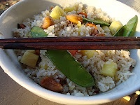 Ginger, Pineapple, Cashew Fried Rice | Food I want to cook | Pinterest