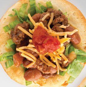 Grands! Biscuit Taco Cups Recipe — Dishmaps