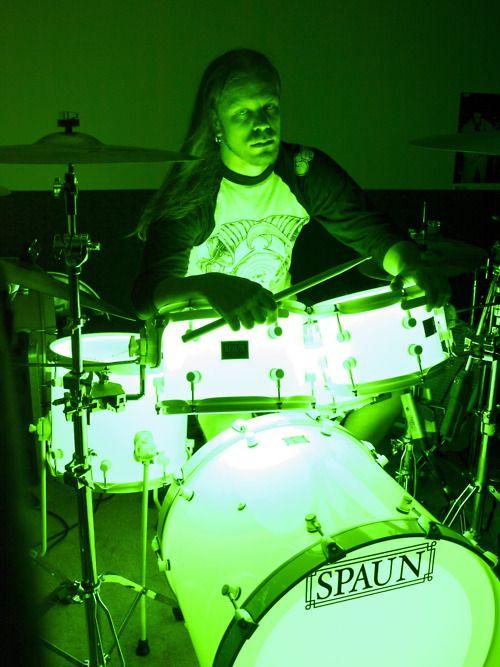 LED Spaun Drums