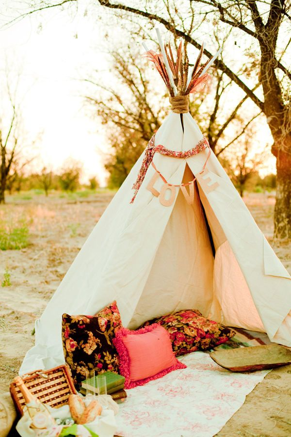 romantic teepee