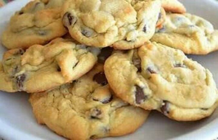 Chocolate chip pudding cookies | desserts | Pinterest