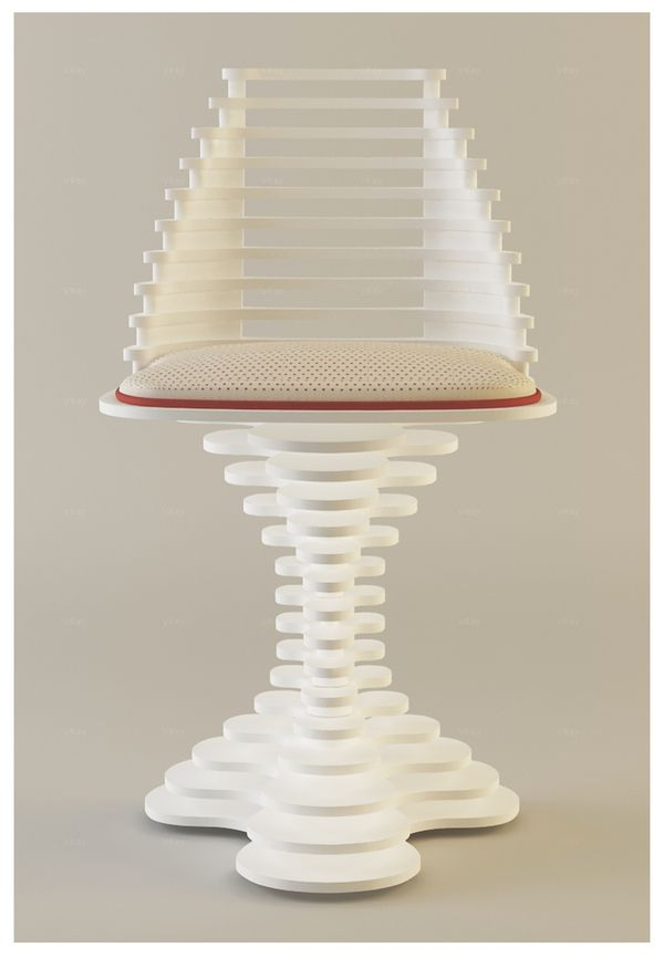 Gravity Chair by Andrei Otet, via Behance