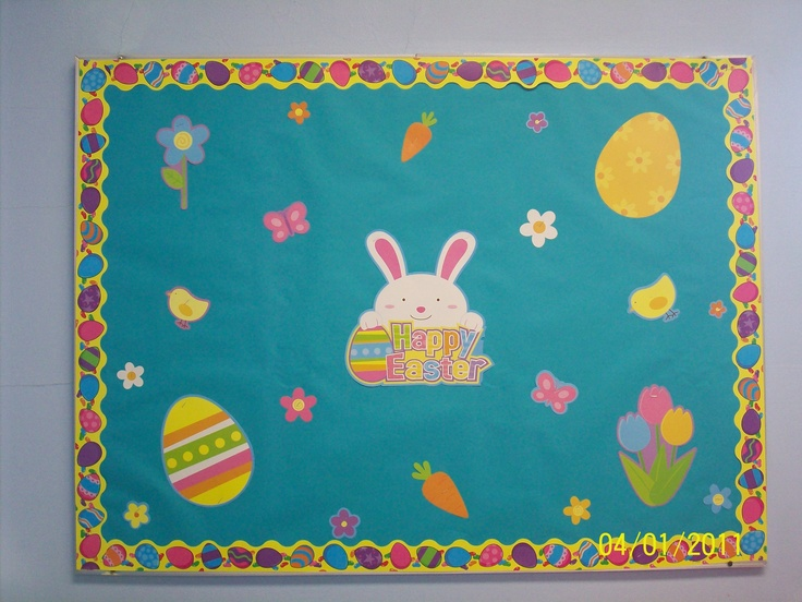 Easter bulletin board | Classroom Decorations and Bulletin Boards | P ...