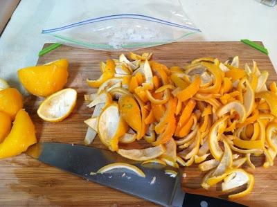 Candied Meyer Lemon Peel   What Julia Ate